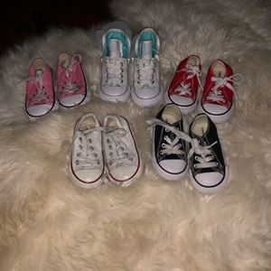 Toddler Girl Converse Bundle Size 5